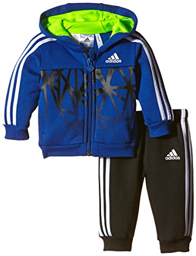 adidas I J FB FZHD Jog - Chándal Unisex, Color Azul/Negro/Blanco/Amarillo, Talla 62