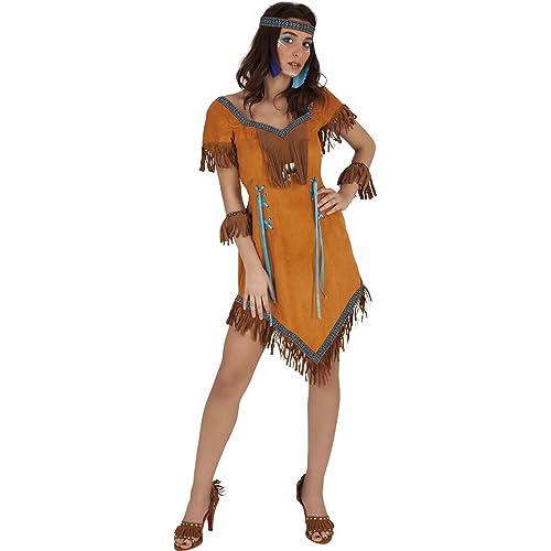 Rubies - Disfraz de india Cherokee, para mujer, talla única (S8231 ...