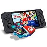 Handheld Game Console, PowkiddyRGB10Max Video Game Console Handheld Game Systems, 5 Inches Retro Game Console with Built in Games 20000 in 128G, Retroid IPS Screen Upgrade WiFi and Bluetooth