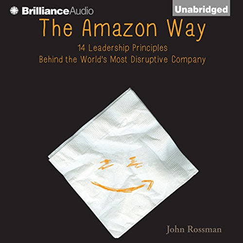 The Amazon Way audiobook cover art