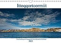 Ittoqqortoormiit - Eine Siedlung am Eingang des Scoresbysund in Groenland (Wandkalender 2022 DIN A4 quer): Ittoqqortoormiit ein entlegener Ort in Ost - Groenland, am Eingang des Scoresbysund (Monatskalender, 14 Seiten )