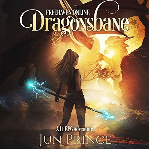 Freehaven Online: Dragonsbane audiobook cover art