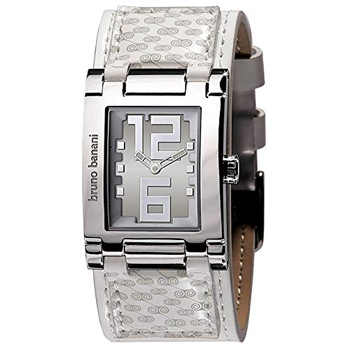 Bruno Banani 25949 Damen-Armbanduhr Lederarmband