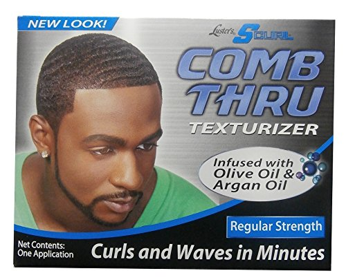 Lusters Luster's SCURL Comb thru Texturizer Regular Strength One Application
