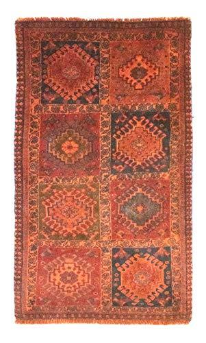 Morgenland Teppiche 4519Yal100x60 Teppiche, 100% Schurwolle, 100 x 60 cm