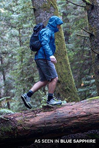 Marmot Men's Precip Lightweight Waterproof Rain Jacket, Blue Sapphire, Large