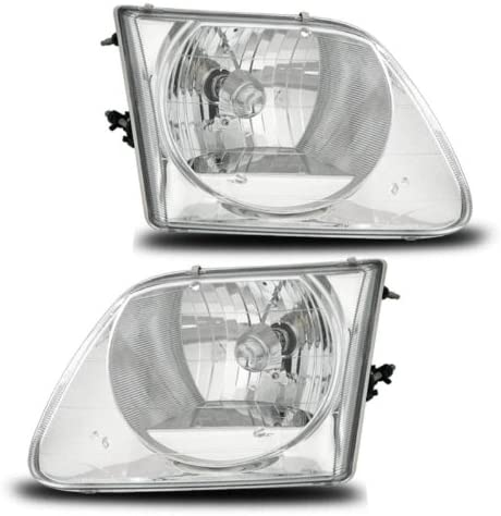 Genuine AmeriLite Headlights Lighting Mail order cheap Style Set Ford F-150 For Expedit