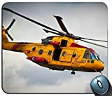 Not Applicable Vuelo de Rescate en helicóptero Amarillo Canadá Mousepad Gaming Rectangular Mouse Pad