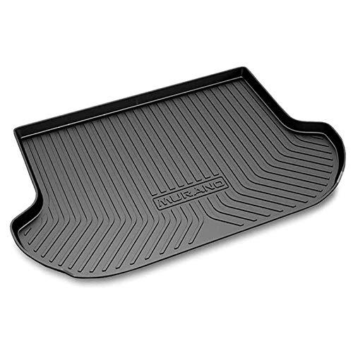 Alfombrilla para maletero trasero de coche para Nissan Murano 2015-2019, alfombra de carga interior antisuciedad antideslizante impermeable antideslizante resistente al agua TPO a medida inodoro