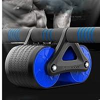 SHYPYG 余分な厚い膝パッドマット-ボディフィットネス強度トレーニングマシンホイールジムツールと腹筋ホイール腹部運動ローラー (Color : Orange)