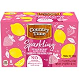 Country Time Sparkling Strawberry Lemonade Drink (7.5 oz Cans, 6 Count)