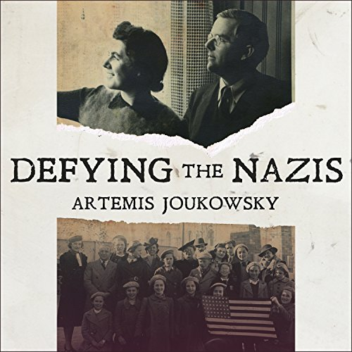 Defying the Nazis audiobook cover art