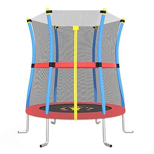 ZHAOJBC Fitnessruimte Trampoline met Behuizing Net 140 cm Ronde Zee Mini Bouncer voor Binnen/buiten - Max Load 200KG