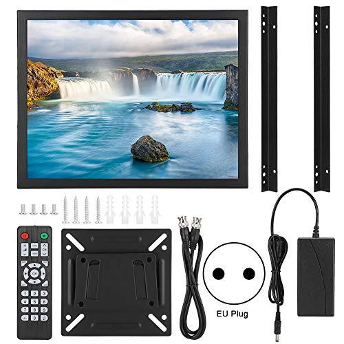 Monitor HD, Pantalla Táctil de Resistencia de 15 Pulgadas 1024x768 Monitor Integrado 4: 3 HDMI/VGA/AV/BNC/USB (100-240V)(EU)