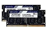 Timetec Hynix IC 32GB KIT (2x16GB) DDR4 2666MHz PC4-21300 Unbuffered Non-ECC 1.2V CL19 2Rx8 Dual Rank 260 Pin SODIMM Laptop Memory RAM Module Upgrade Item (Not for iMac 2019)