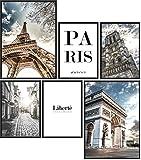 Papierschmiede® Mood-Poster Set Paris | 6 Bilder als