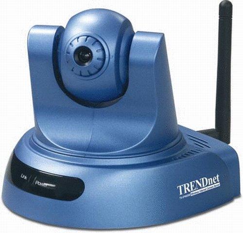 TRENDnet ProView Wireless Advanced Pan/Tilt/Zoom Internet Surveillance Camera TV-IP400W