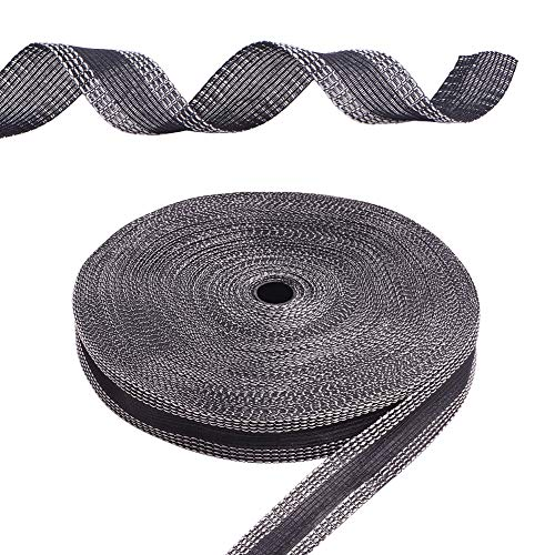 PH PandaHall 50 Yards Iron-on Hemming Tape, 24mm Adhesive Pants Hem Tape Fabric Tape Hem Tape Iron-on Hem Tape Roll for Suit Pants Jeans Trousers Garment Clothes Skirts