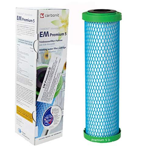 Carbonit Wasserfilter EM Premium 5 D höherer Durchfluss für Sanuno Vario-HP Duo