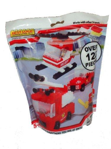 Best-lock Fire Dept Construction Toys