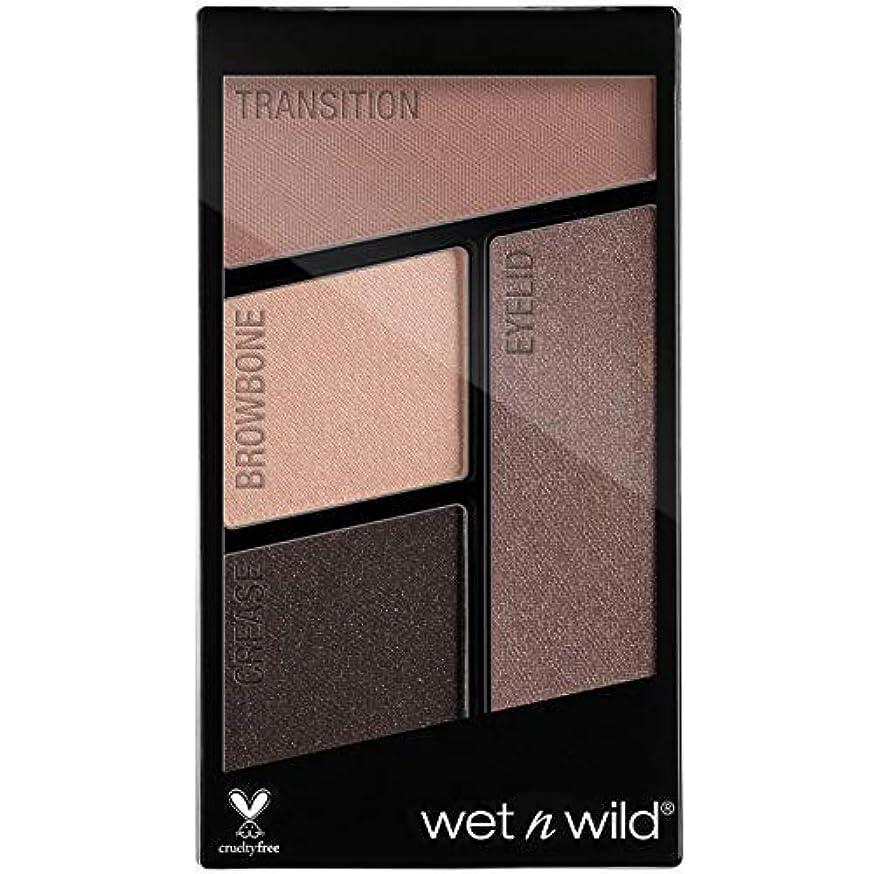 見つけるレシピ親指WET N WILD Color Icon Eyeshadow Quad - Silent Treatment (並行輸入品)
