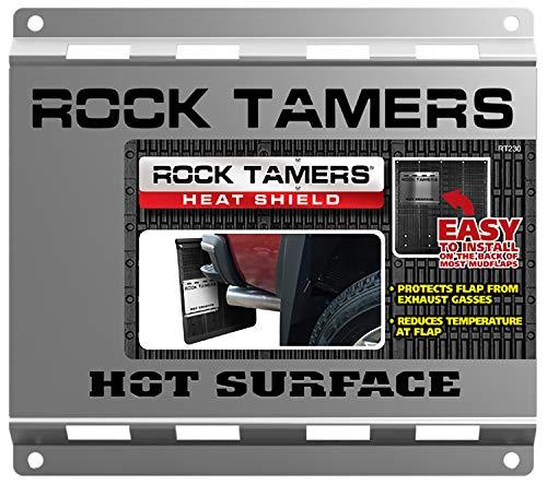 Rock Tamers, Llc RT230 Rock Tamer Heat Shield , Black , Standard