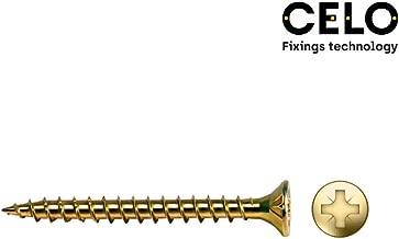 Celo 987057150 50 Unidades Cincado Tirafondo Cabeza Hexagonal Din 571 Di/ámetro 8X70 Mm