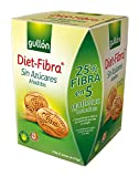 Diet-Fibra - Gullón- Galletas Sin Azúcares  - Caja 450 g - [pack de 3]
