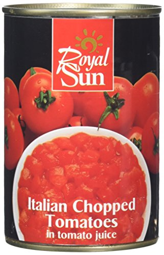 Royal Sun Chopped Tomatoes 400 g (pack of 24)