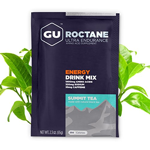 GU Energy Roctane Ultra Endurance Energy Drink Mix, 10 Single-Serving Packets, Summit Tea