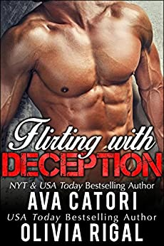 Flirting with Deception: A stand alone BBW contemporary romance (Flirting with Curves Book 2) by [Ava Catori, Olivia Rigal]