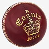 Readers County Crown 1A2530M01 - Pelota de críquet (156 ml), Color Rojo