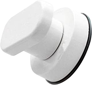 FITYLE Durable Plastic Exterior Interior Suction Door Pull Knob Drawer Bathroom Shower Toilet Safety Handle - White