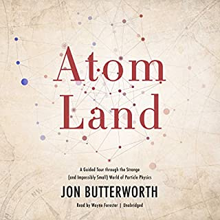 Atom Land audiobook cover art
