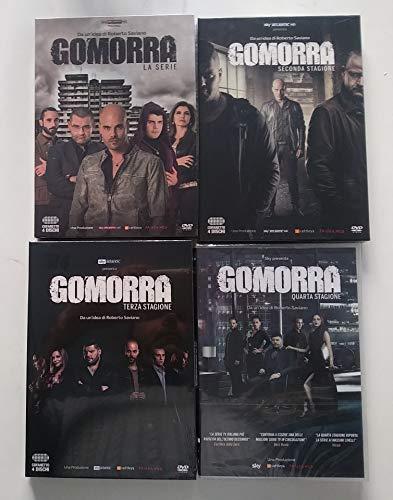 Gomorra - La Serie Stagione 01-02-03-04 (16 DVD) - Edizione Italiana