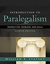 Introduction to Paralegalism: Perspectives, Problems and Skills PDF