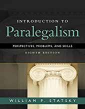 Best introduction to paralegalism, 8th edition Reviews