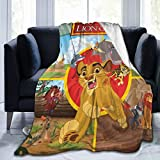 TECHSOURCE Lion Guard Movie Ultra-Soft Fleece Blanket Warm Flannel Blankets and Throw Blankets All Season Sofa Bed Blanket and Living Room for Boys/Girls/Teen/Kid,50'X40'