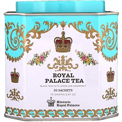 Harney & Sons Royal Palace Tea Tin - High Quality Blend of Black Teas, Great Present Idea - 30 Sachets, 2.67 Ounces