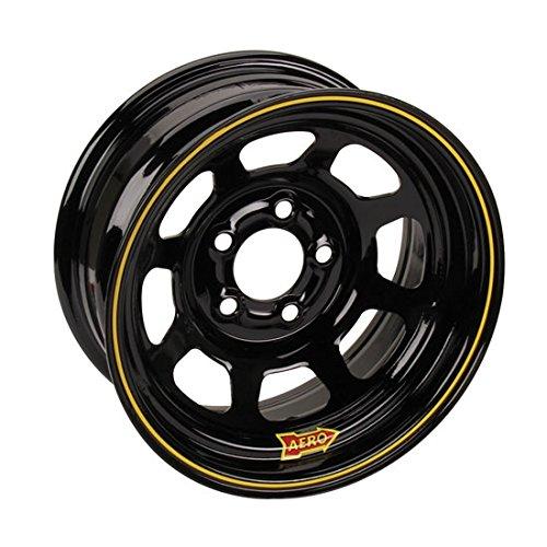 Aero Wheels 50-175030 50 Series Roll-Formed Race Wheel Size: 15 x 7 Bolt Pattern
