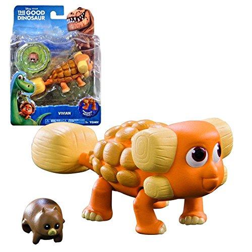Arlo & Spot Disney The Good Dinosaur - caractère de chiffre Ankylosaurus Vivian