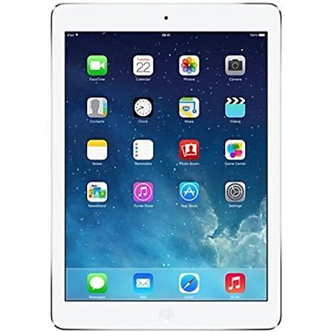 Apple iPad Air MD790LL/A (64GB, Wi-Fi, White with Silver) (Renewed)