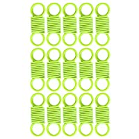 Small Compression Springs, Compression Springs Compressive Beautiful Practical Lightweight for General Purpose for Professional Use for Hairstyle for Clothing(Fluorescent green)