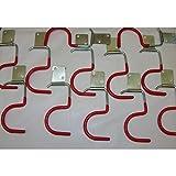 15x Gerätehalter Haken Werkzeughalter Gartengerätehalter Besenhalter Stielhalter
