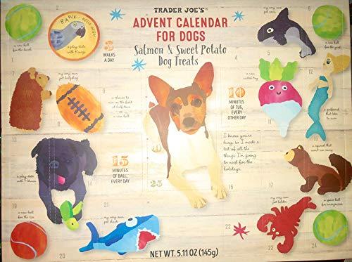 Trader Joe's Advent Calendar for Dogs - Salmon and Sweet Potato Dog Treats