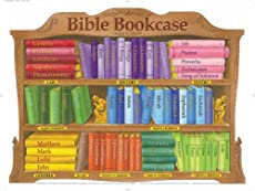 Image of Bible Bookcase wall chart. Brand catalog list of Rose Publishing.