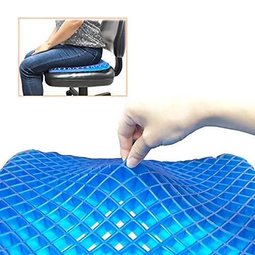 Urbo Ergonomisches Sitzkissen mit ausgewogener Unterstützung für langfristiges Sitzen und Linderung von Steißbeinschmerzen, Ischias, Schwitzbeschwerden, Orthopädisches Sitzkissen für Büros und Zuhause