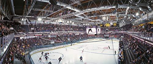 Nürnberg Eishockey Arena Panorama – Poster 120 x 50 cm – hochwertiger FineArtPrint