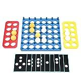 Cyhamse Juego de Pinball Juguetes educativos para niños Juegos de Mesa Tarjeta de Competencia interactiva Entre Padres e Hijos Juguetes para el Desarrollo del Cerebro de los niños