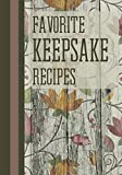 Favorite Keepsake Recipes: Make Your Own Cookbook, Christmas edition